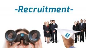 LinkedIN recruitment ad